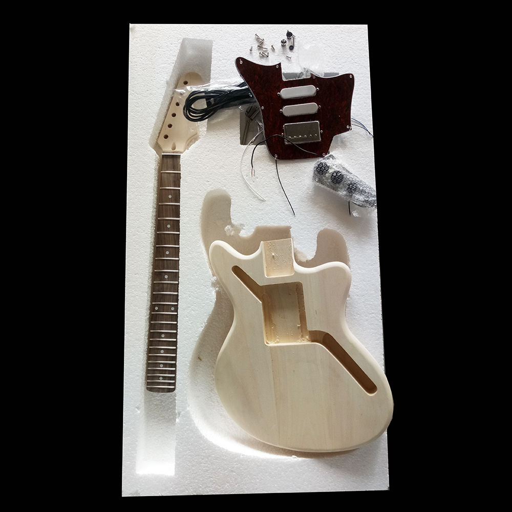 China Electric Guitar Supplier 6 Strings DIY Electric Bass Guitar Kits