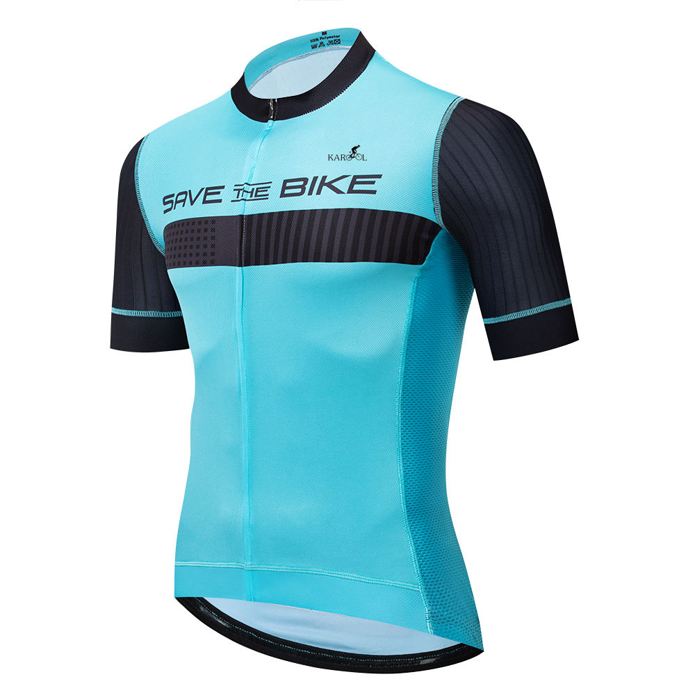 Karool Custom Bicycle Jersey Design Unisex Bike clothing Custom Cycling Apparel