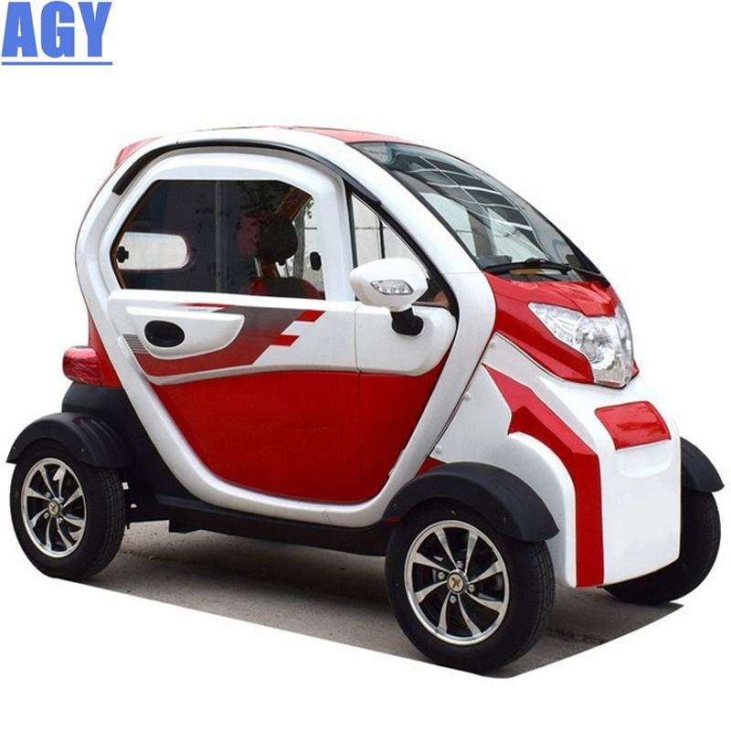 AGY solar type car cheap price 3 seats 4 wheels electric vehicles with air conditioning
