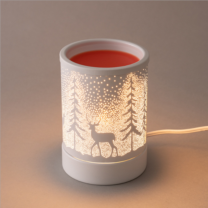 Scented Wax Candle Melter Warmer White Beer Wax Melt Heater Fragrance Essential Oil Burner