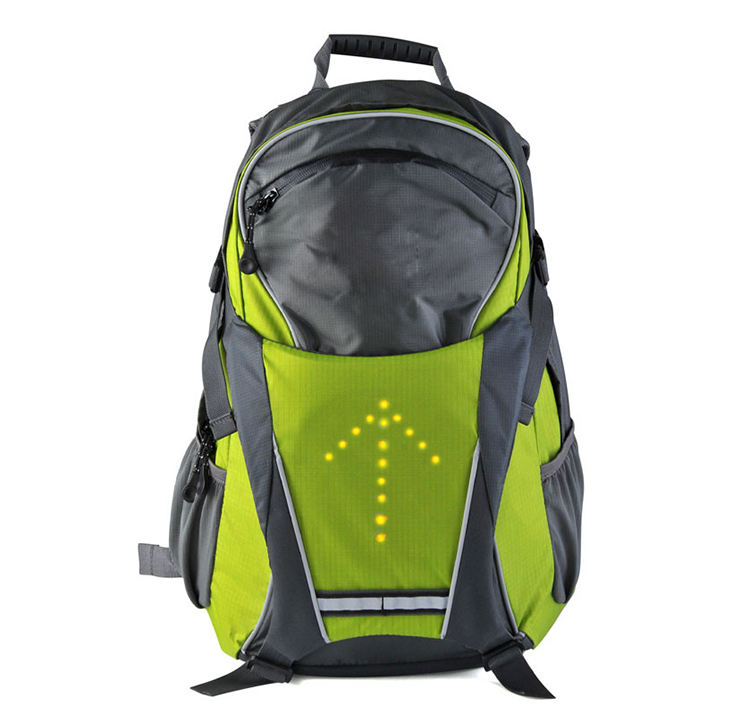 Eceen Led Turn Signal Backpack Light Reflective Vest 18L Capacity Outdoor 18 //Box 1 Box