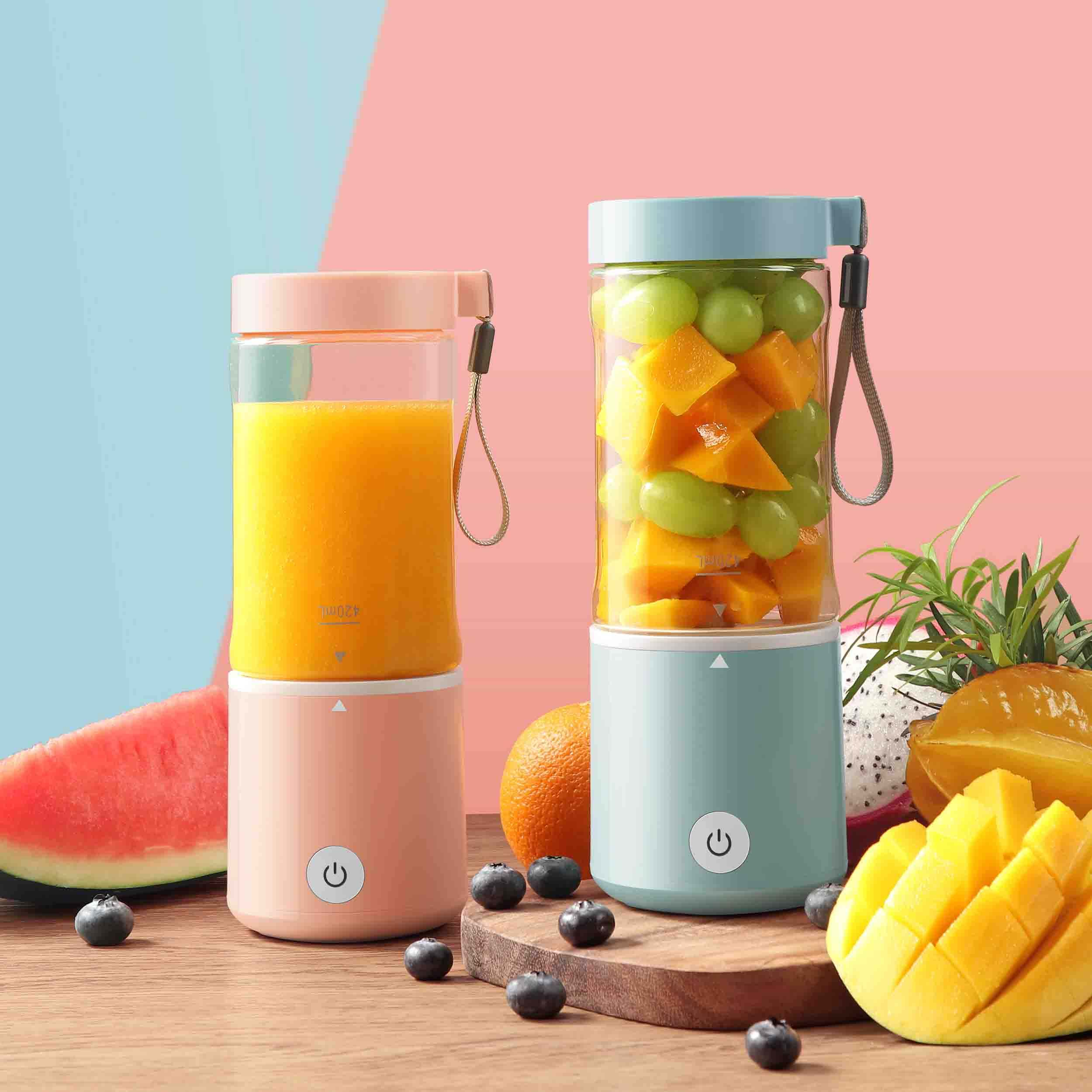 Shake & Take And Go Take Fruit Protein Juicer Mini Multi Sport portable Blender