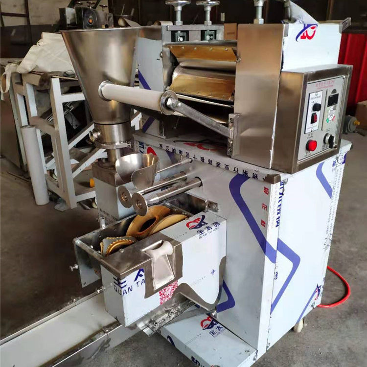 stainless steel automatic dumpling machine 110v 220v ravioli empanada samosa making machine