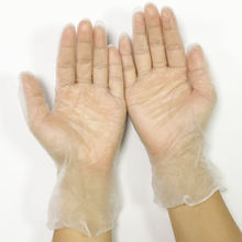 PVC glove Vinyl with no powder glove for food grade