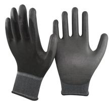 Safety Working 10 Black Pu coated Gloves