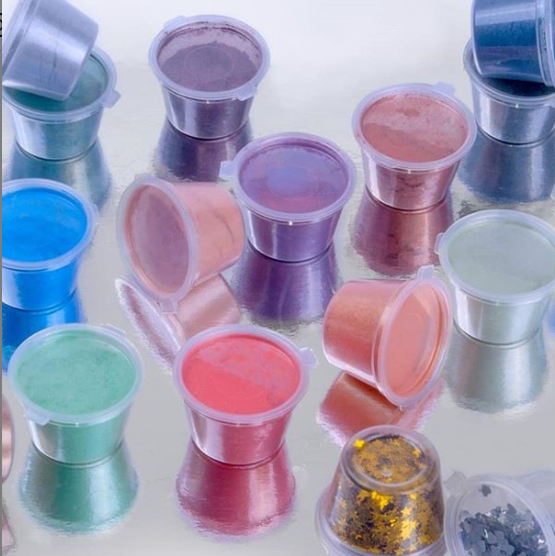 Jingxin Color Mica Pigment Powder Dye for Cosmetic Ink Coating and Painting