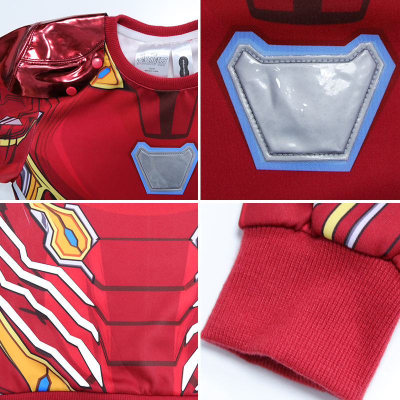 Halloween Party Costumes Boys Dress Up Role Play Halloween Party Marvel Ironman Costume For Kids