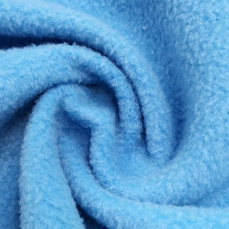 Polaric fleece fabric supplier 100% polyester fleece fabric for sweatshirt baby blanket knit stretch fabric