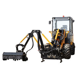 Heavy Duty Schranklader Bijlagen Dorsvlegel Maaier Slasher Mini Jcb Loader Telescopische Backhoe