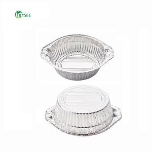 Take-out Aluminium Foil Containers For Food Packaging Disposable Bowl Household Baking Or Catering Foil