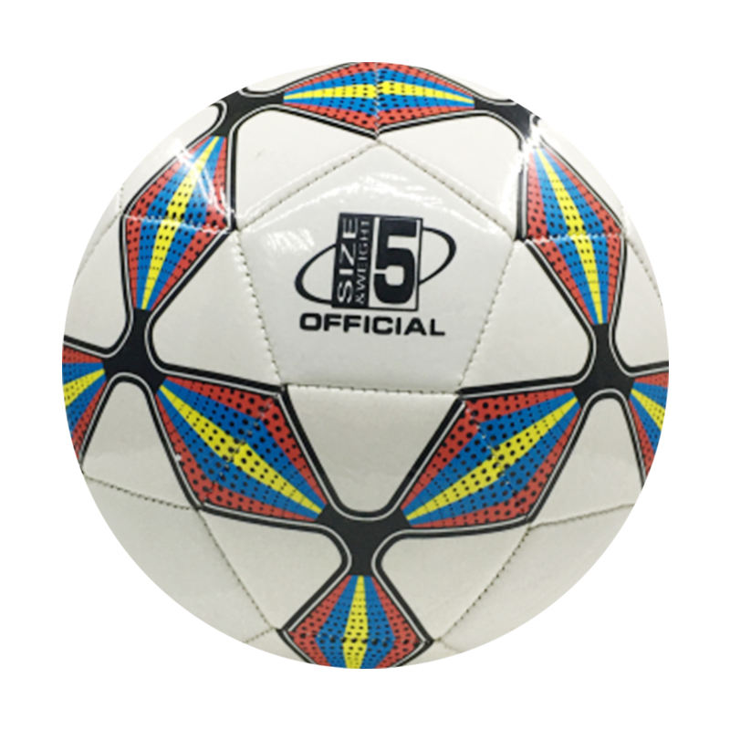 Club training or match footballs PVC / PU soccer balls high quality footballs