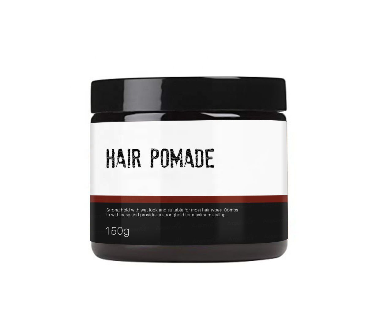 Custom private label hair edge control gel organic hair styling wax