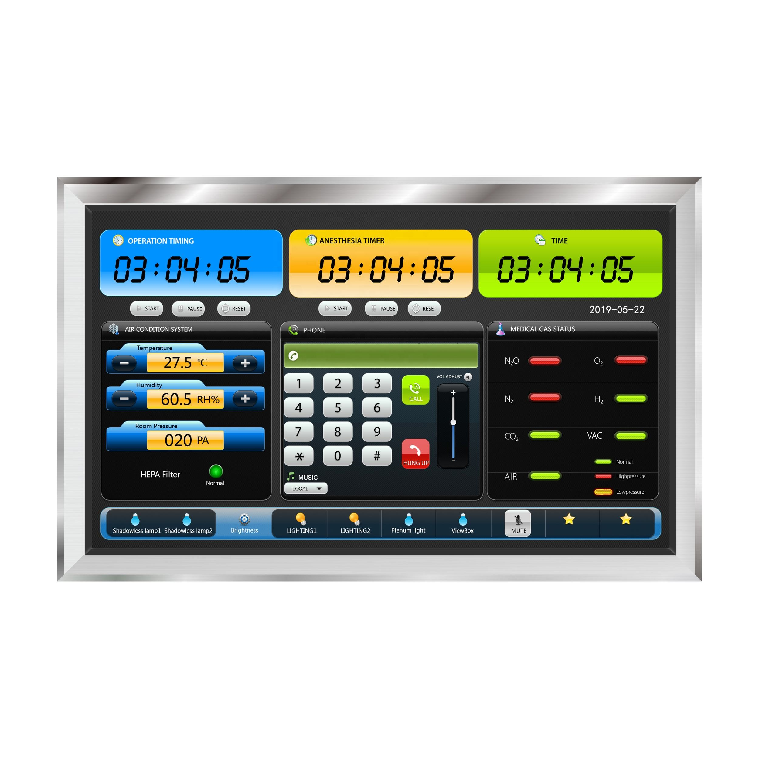Operating Room LCD Digital Control Panel(22 inch)