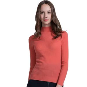 Fashion 100% lady wool sweaters pullover sweater