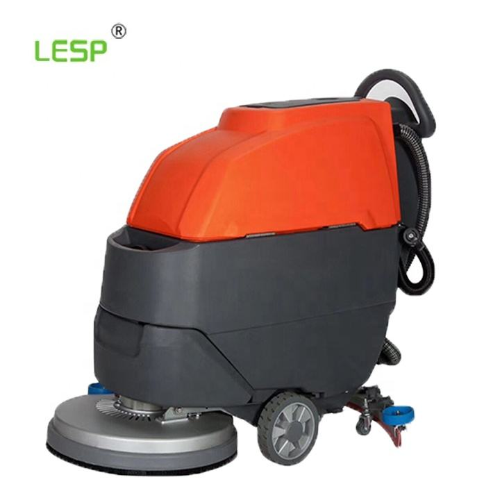 Autoscrubber ทำความสะอาดเครื่องแบตเตอรี่ Self Propolled Grout ไม้อุตสาหกรรม Commercial FLOOR Scrubber