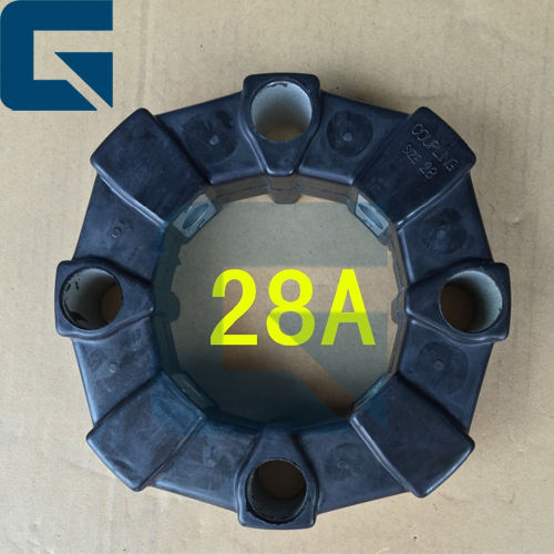 Excavator Coupling Flexible Rubber 28A Coupling