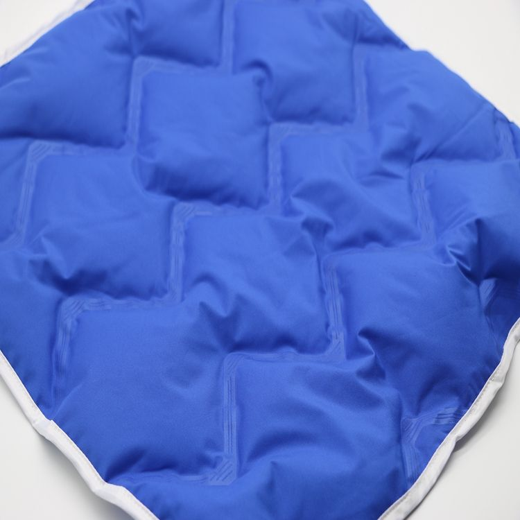 double seamless channel fabric for high-grade down jacket