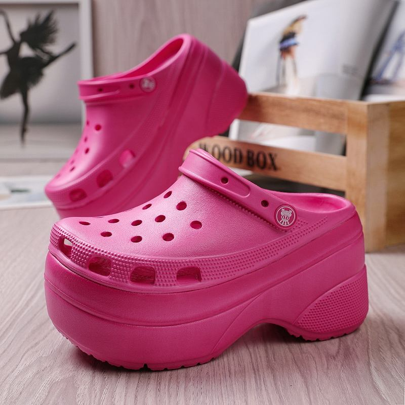 New design hot sale wholesale speed dry china zuecos classic holeys eva clog for women