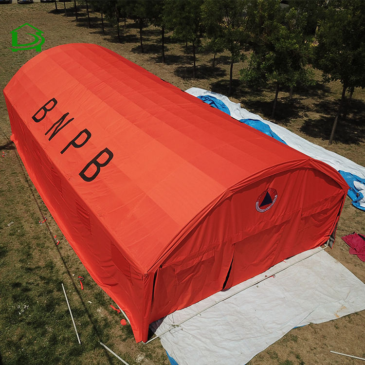 outdoor waterproof camping large emergency relief military tent resort for sale