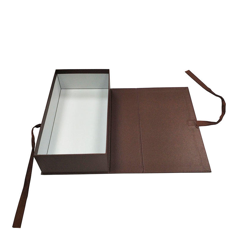 Wholesale Brown Cardboard Paper Carry Out Packaging Folding Food Box