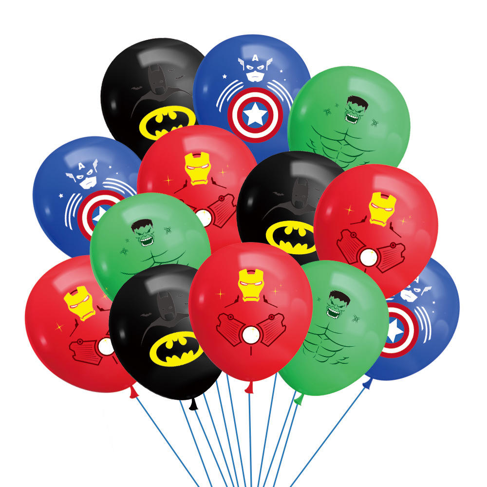 Mlml Super Hero <span class=keywords><strong>Thema</strong></span> Party Dekoration Set Banner Latex Ballon für Kinder Geburtstags feier Party Supplies