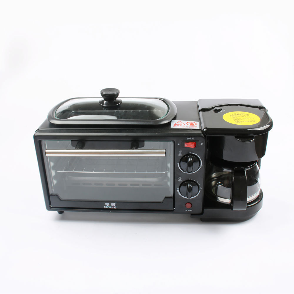 Tiancheng Mixes Manufacturers Oven Plans Home Use Luxury Automatic 3 In 1 Breakfast Set Toaster Coffee Maker