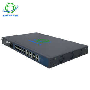 Fiber Optic equipment FTTH olt gpon 8 ports Price GEPON Compatible With Huawei ZTE bdcom