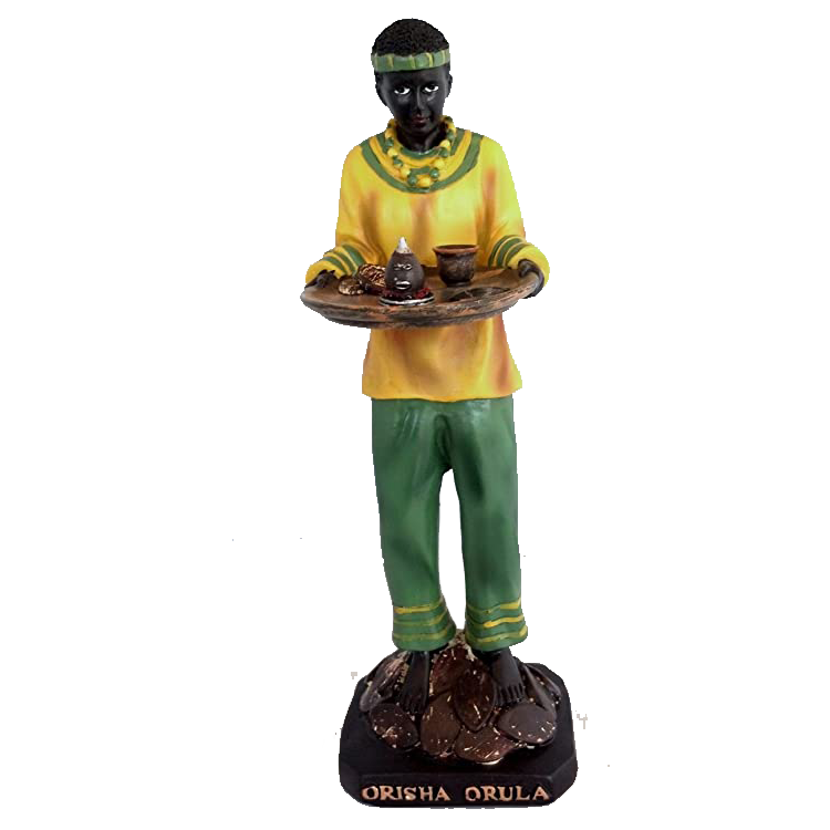 latest design African Orisha Orula resin craft santeria statue