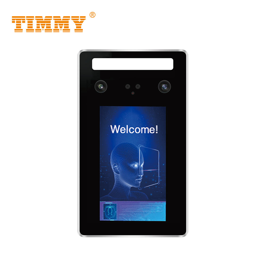 Timmy Timmy 5inch TFT Touch Screen Clocking Device Time Punching Machine Face Recognition System