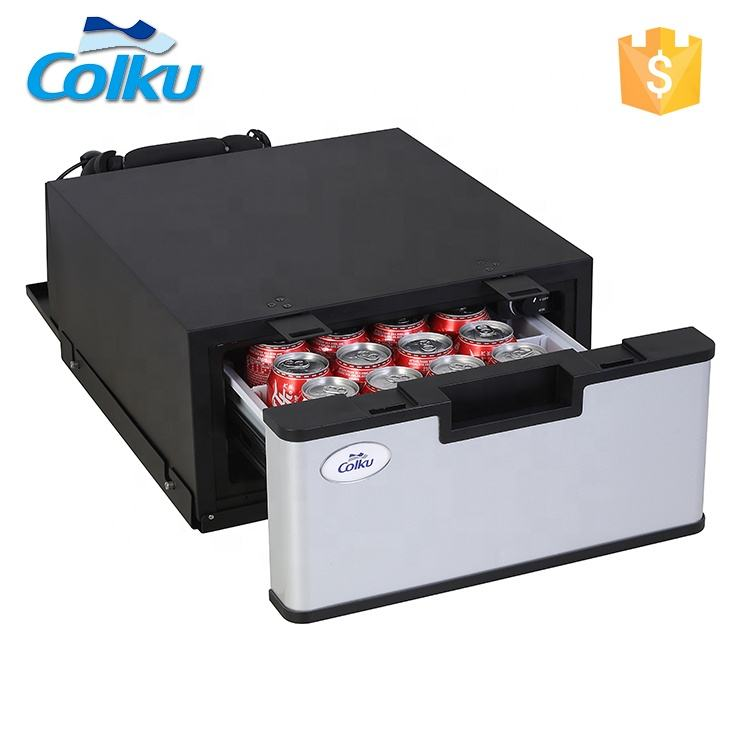 23L Drawer type mini refrigerator carcar drawer fridge