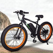 Most Attractive ALLOY Frame  FAT BIKE  beach ebike 26 inch electric  cruiser bike 48v fatbike