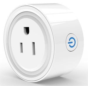 Mini Socket Met Wifi Ondersteuning Google Alexa Assistent Voice Control Smart Home Outlet