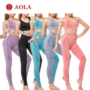 aola women's fitness and yoga wear seamless leggings