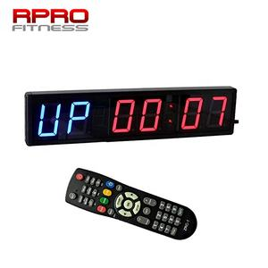 Draagbare 4 Inch 6 Digitale LED Crossfit Interval Training Timer voor GYM Fitness Training Timer