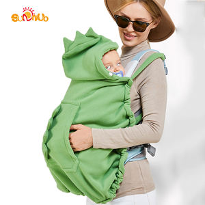Amazon Hot Sale Stroller Cover and Baby Carrier Cover Hooded Stretchy Cloak for Baby