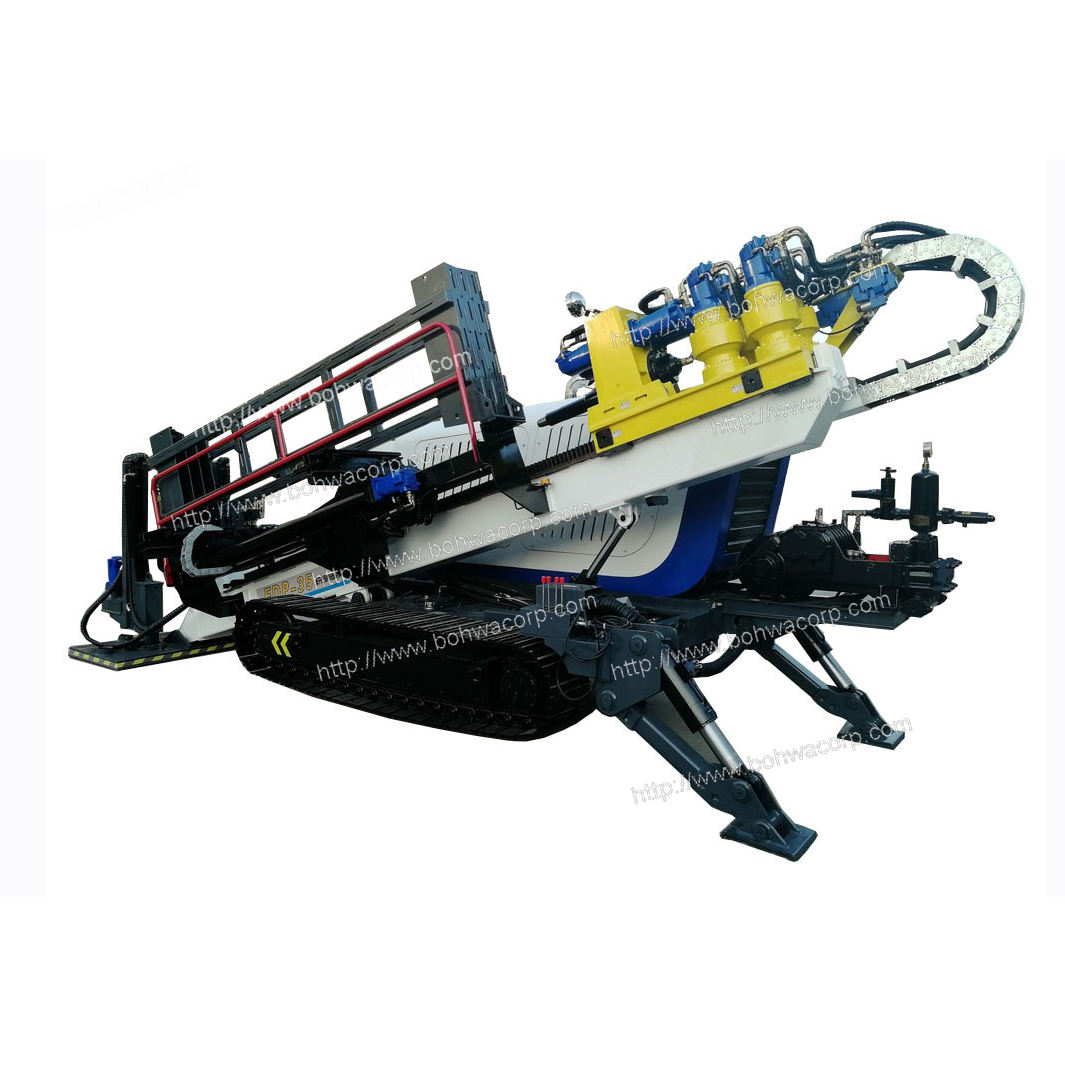 Crawler Based HDD Horizontal Drilling Rig with Capacity 350KN for Municipal Projects