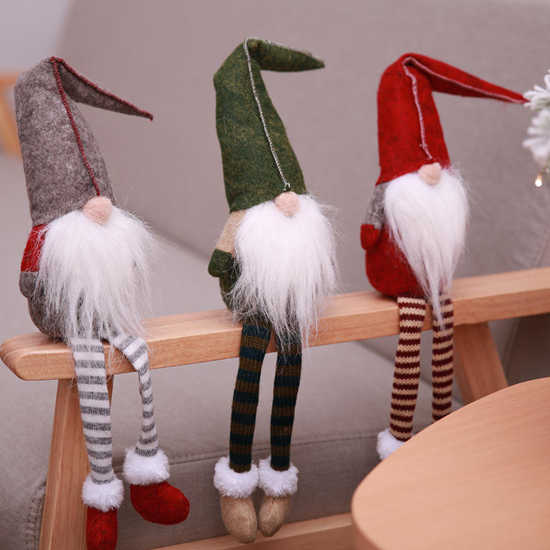 Home Decorative Novelties Of Christmas Decorations Gifts Supplies Christmas Dolls