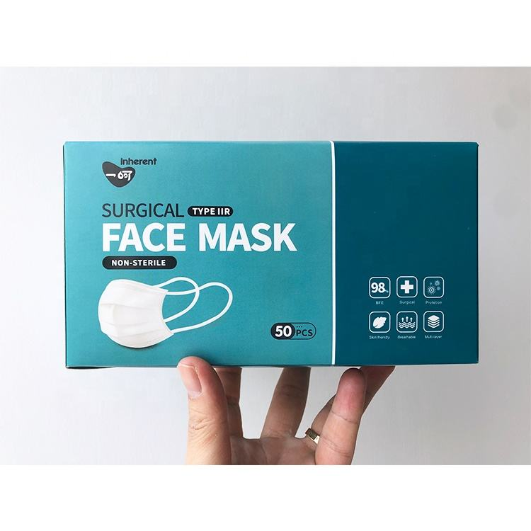 10 cartons factory directly sale 3 ply disposable surgical medical face mask in stock