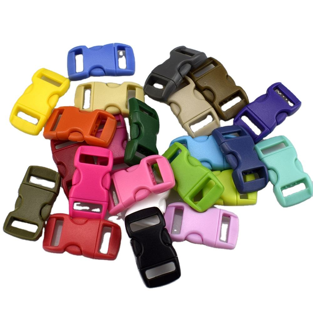 Custom 10Mm/13Mm Customized Size Colorful Small Quick Release Plastic Buckle