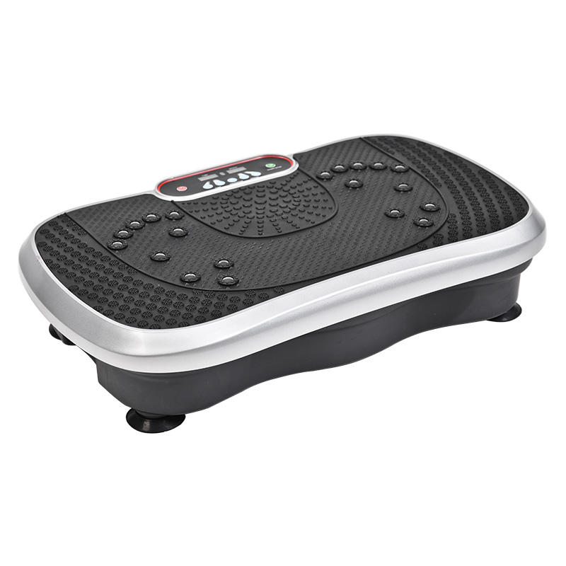 Fitness whole body workout exercise machine small mini ultrathin vibration plate