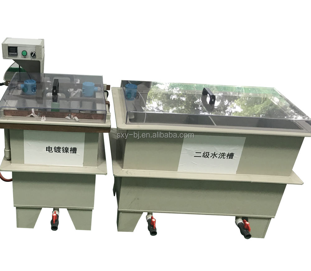 Nickel Logo Sticker ElectroPlating Machine / nickel sticker making machine