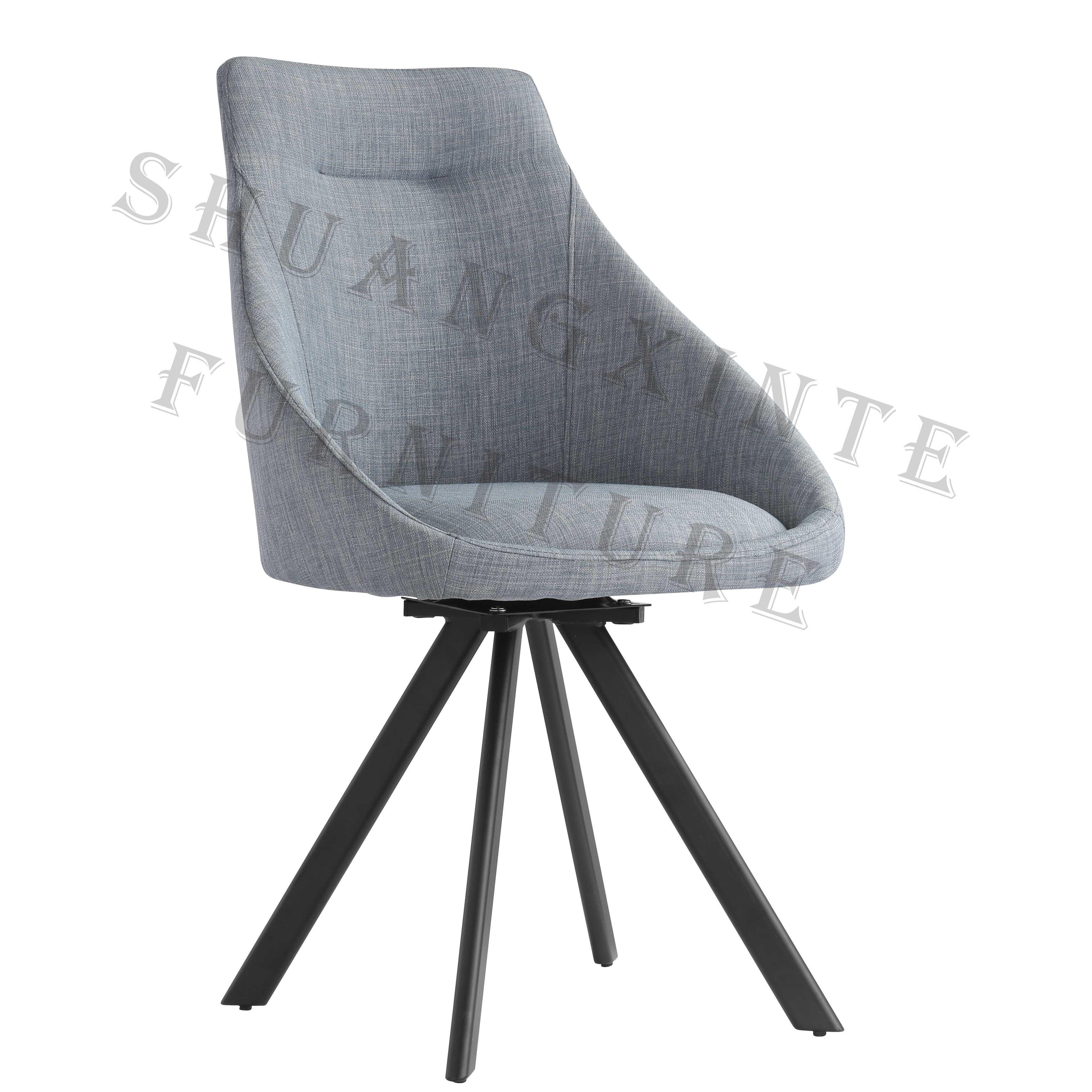 Nouveau design Tissu et <span class=keywords><strong>platine</strong></span> dinant la chaise faite en Chine