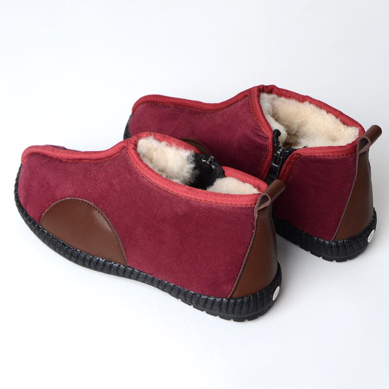 New design Comfortable and warm woolen shoes with high quality