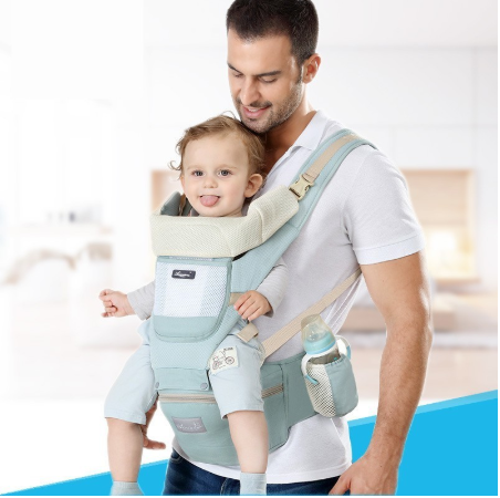 Dropshipping new born Baby Carrier Infant Kids Backpack Hipseat Sling Front Facing Kangaroo Baby Wrap for Baby Travel 0-36 month