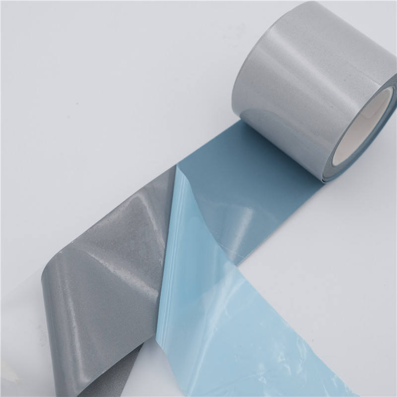 Factory High Visibility Bright Silver Spandex Reflective Heat Transfer Film For clothes