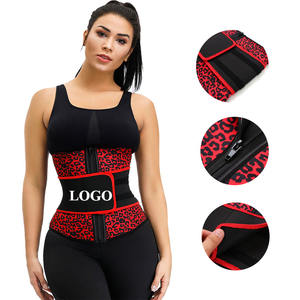 Compression Adjustable Belt Neoprene Waist Trainer For Workout Speed Up Fat Burning Tummy Control