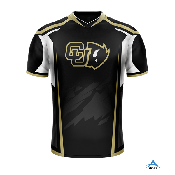 Womens Quick Dry Sublimated Custom Gaming T Shirts