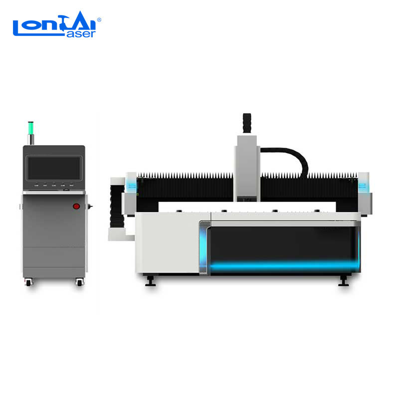 1000W 1500w 2000w 3000w fiber laser cutting machine sheet metal cutting with Raycus Max IPG laser source price for sale