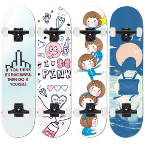 wholesale design your own custom maple wood professional skate board complete skateboards