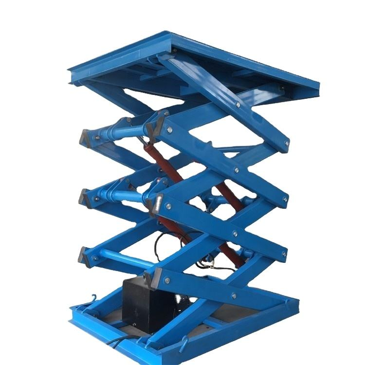 Factory price Manufacturer Supplier freight warehouse hydraulic goods lift stationary scissor lifts